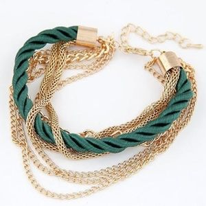 Woven Chain Braided Rope Multilayer Bracelets